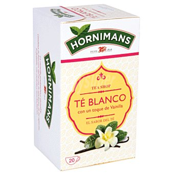 Hornimans Té blanco Caja 20 sobres