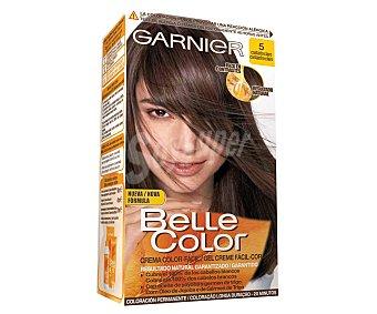Belle color Gel Color Fácil Castaño Claro Nº 5 1 Unidad