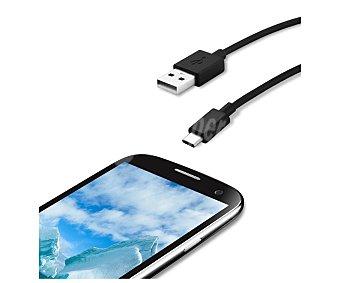 Qilive Cable con conexión USB C a 3A, 1,2metros. (teléfono no incluido)