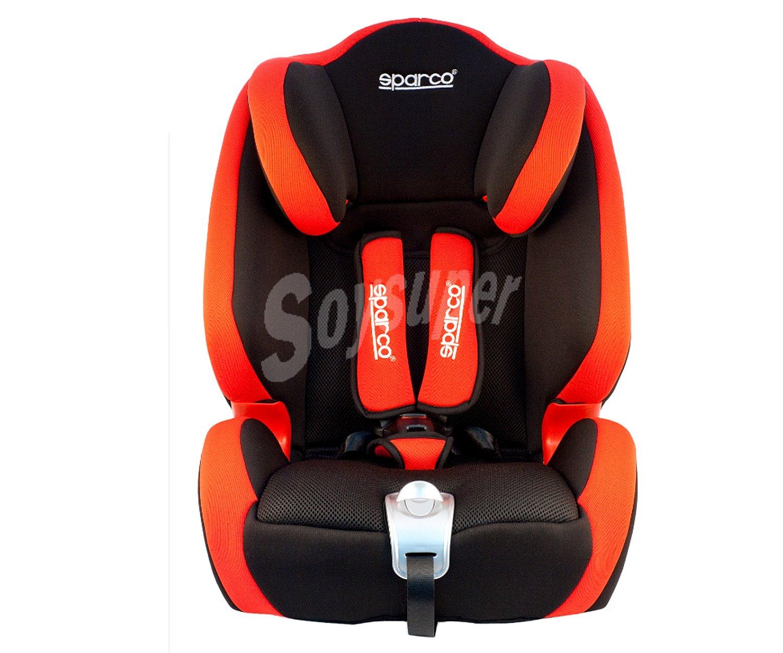 Sparco silla de auto para grupos 1 2 3 color rojo 1 2 3 - Silla bebe sparco ...