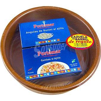 Portomar Angulas + gambas lata 63 g Lata 63 g