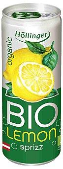 Hollinger Refresco de limón ecológico con gas Lata 25 cl