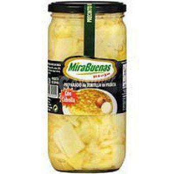 MIRABUENAS Preparado de patata con cebolla Bandeja 700 g