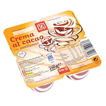 DIA Crema chocolate con avellanas pack 4 unidades 62g