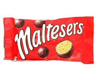 Maltesers Bolas de chocolate con leche rellenas de leche malteada 37 gramos