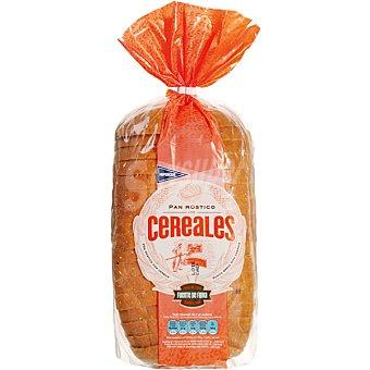 Hipercor pan rústico con cereales bolsa 550 g Bolsa 550 g