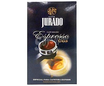 Jurado Café Molido Natural Expresso 250 Gramos