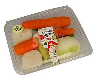 Frujuca Preparado de verduras para caldo (zanahoria, nabo, puerro, cebolla y apio) 650 gramos