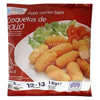 Antonio y Ricardo Croquetas de pollo 1 kg 1 kg