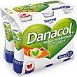 Yogur líquido natural  Pack 6 x 100 ml  Danacol Danone