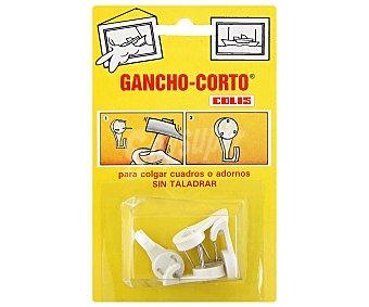 Colis Gancho Corto sin Taladro 1 Unidad
