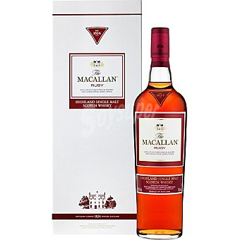 The Macallan Whisky escocés de malta 18 años Ruby botella 70 cl