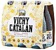 Agua mineral con gas Pack 6 x 25 cl Vichy Catalán