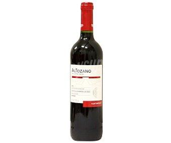 ALTOZANO Vino tinto de la tierra de castilla tempranillo con aromas de cerezas negras Botella de 75 Centilitros