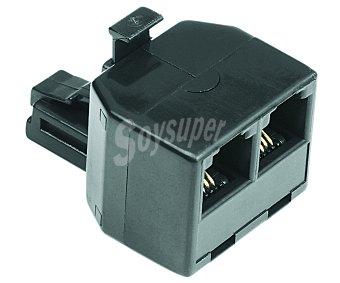 SELECLINE Multiplicador de clavíja de teléfono (producto económico alcampo) RJ11,