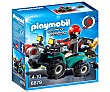 Escenario de juego Ladrón con quad y botín, City Action 6879 playmobil  Playmobil