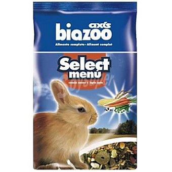 BIOZOO AXIS SELECT MENU Alimento para conejo enano Paquete 1 kg