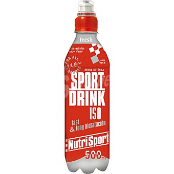 NUTRISPORT Sport Drink Iso bebida isotónica sabor Fresh  botella 500 ml