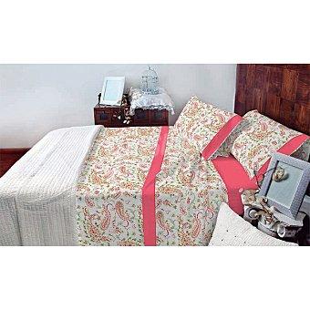 CASACTUAL Murcia Juego de cama con amebas en color rosa