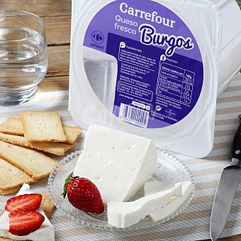 Carrefour Queso fresco de Burgos Tarrina de 250.0 g.
