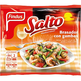 Findus Brasador de verduras con gambas Salto Mediterráneo bolsa 500 g