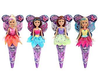 Sparkle girlz Muñeca hada con alas de purpurina girlz