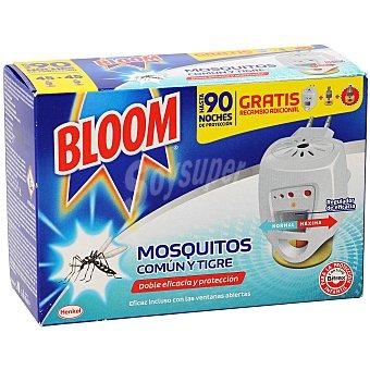 Bloom Bloom insecticida eléctrico antimosquito aparato + recambio Bote 35 ml