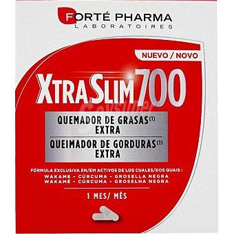 Forte Pharma Xtraslim 700 quemador de grasas extra ápsulas con Wakame, cúrcuma y grosella negra Caja 120 c