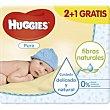 Toallitas bebé pure Bolsa 3 paquetes x 56 u - 168 u Huggies