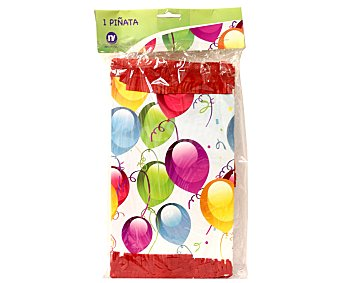 NV CORPORACION Piñata de fiesta, diseño globos 1 Unidad