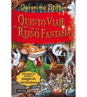 STILTON Quinto viaje al reino de la fantasia (gerónimo )