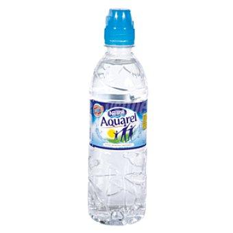 Aquarel Nestlé Agua mineral natural botella 50 cl con tapón sport 50 cl