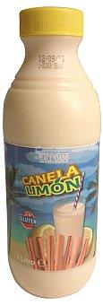 Hacendado Leche sabor canela limón Botella de 1 l