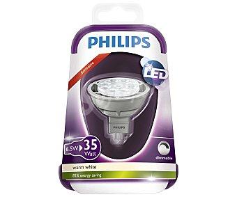 Philips Foco led dicroico 6.5 Watios, con casquillo GU5.3 y luz cálida 1 unidad