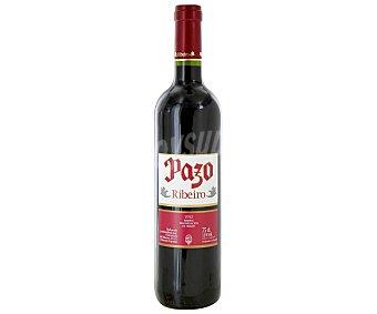 Pazo Vino tinto con denominación de origen Ribeiro Botella de 75 centilitros