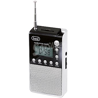 TREVI DR 735 Radio digital de bolsillo en color blanco