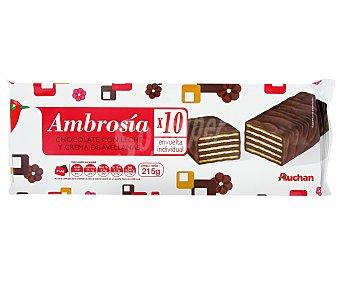 Auchan Ambrosia 10 Unidades 215 Gramos