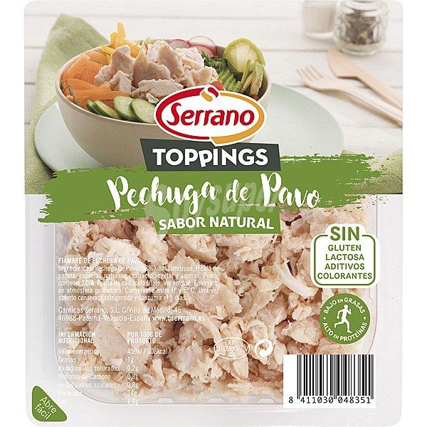 bfbf1d99f Serrano Toppings tiras de pechuga de pavo sin gluten sin lactosa ...