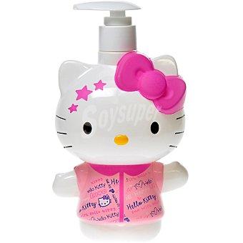Hello Kitty Jabón de manos Happy Love en 3D dosificador 400 ml Dosificador 400 ml