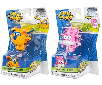Super wings Surtido de figuras Superwings transformables, Transform-a-Bots wings