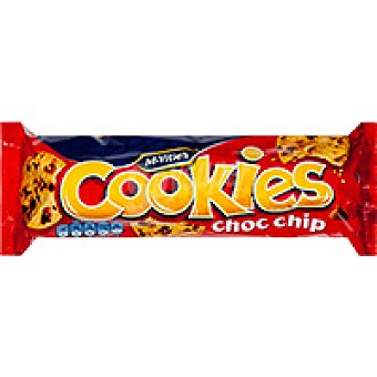 McVities Cookies Chocochips Paquete 150 g