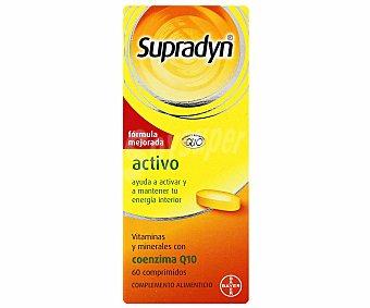 SUPRADYN Activo Complemento alimenticio, vitaminas y minerales con coenzima Q10 60 Comprimidos