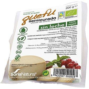 ALECOSOR Quefu Queso de soja semicurado Envase 200 g
