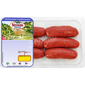 LA MONTAÑERA Chorizo para barbacoa sin gluten Bandeja 420 g