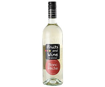 Fruits & Wine Vino blanco melocotón 75 cl
