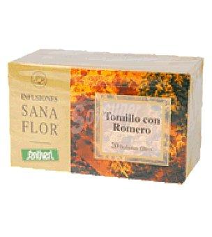 Santiveri Infusión tomillo+romero sanaflor 32 g