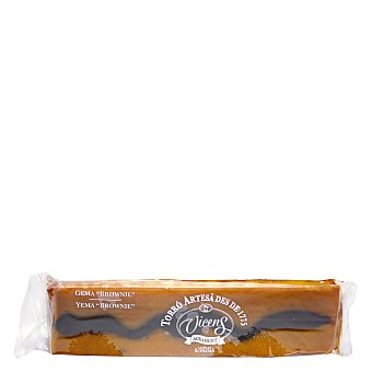 Vicens Turrón de yema con brownie 300 g