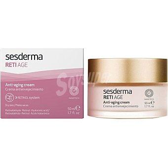 Sesderma Reti AGE crema facial para prevenir y corregir los signos de envejecimiento cutáneo para todo tipo de piel Tarro 50 ml