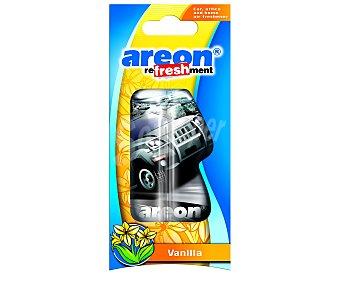 AREON Ambientador, perfumador líquido para colgar, olor vainilla 1 unidad