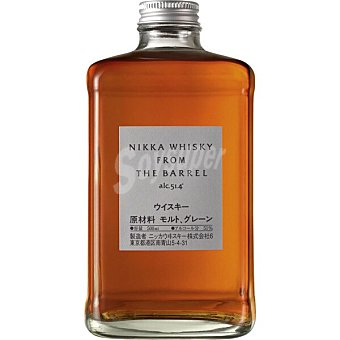 Nikka whisky from the barrel japonés botella  50 cl
